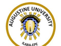 Augustine University JUPEB Admission Form