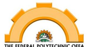 Federal Poly Offa ND Full-Time Admission Form
