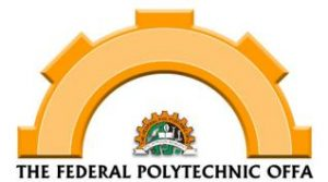 Federal Poly Offa ND Full-Time Admission Lists