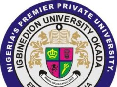 Igbinedion University Postgraduate Admission Form 2020/2021