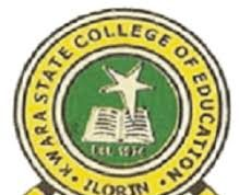 Kwara State College of Education Post UTME Form