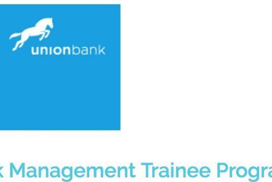 Union Bank Graduate Management Trainee Programme