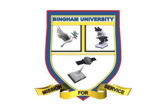Bingham University Admission List