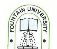 Fountain University Postgraduate Admission Form