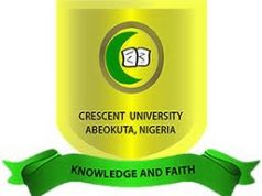 Crescent University Abeokuta (CUAB) 15th Matriculation Ceremony Schedule for 2019/2020