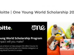 Deloitte One Young World Scholarship Program