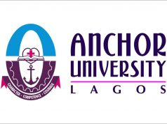 Anchor University JUPEB Admission Form