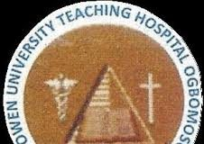 Bowen University Teaching Hospital (BUTH) Admission Form 2019/2020