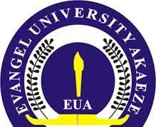 Evangel University Akaeze (EUA) Post UTME/DE Admission Form 2010/2021